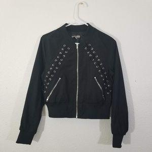 Casting LA Edgy black Jacket Size M